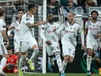 Beşiktaş Konuk Ettiği Slovan Bratislava'yı 2-1 Yendi