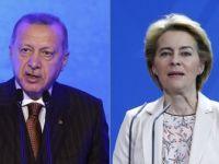 Erdoğan ile Yeni AB Komisyonu Başkanı Von Der Leyen Görüştü