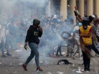 Irak'taki Gösterilerde İran Başkonsolosluğu Yeniden Ateşe Verildi