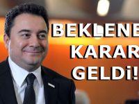 Ali Babacan Partisinin kuruluşunu erteledi!