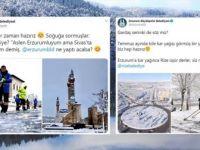 Belediyelerin Sosyal Medyadaki Kar ve Soğuk Hava 'Atışması' Gülümsetti