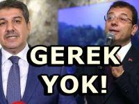 İmamoğlu'ndan kendisini suçlayan AKP'li Başkana yanıt