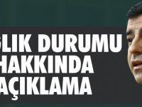 Selahattin Demirtaş'ın test sonuçları çıktı! Son durumu belli oldu