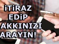 Sürpriz faturalar Gelebilir! GSM operatörlerinden skandal
