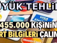 455.000 kredi kartı bilgileri çalındı iddiası