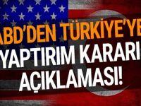 ABD'den Türkiye'ye Skandal Yaptırımlar! Son Dakika Karar geçti