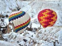 Kapadokya'da Sıcak Hava Balonları 2 Gündür Uçamıyor