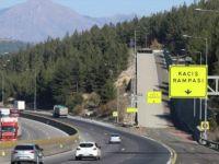 Toros Dağlarındaki Kaçış Rampaları Sürücülerin İmdadına Yetişiyor