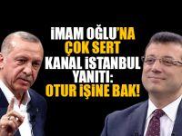 İmamoğlu'ndan Erdoğan'a cevap : Ben oturmak için seçilmedim