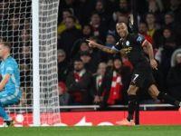 Manchester City, Deplasmanda Arsenal'ı 3-0 Yendi