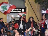 Lübnan'da Binlerce Gösterici Beyrut'ta Toplandı