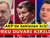 AKP'de beklenen kriz baş gösterdi:MECLİS ÇOĞUNLUĞU DÜŞEBİLİR