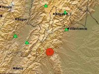Kolombiya'nın Başkenti Bogota'da 6,2 Büyüklüğünde Deprem