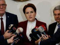 İYİ Parti Genel Başkanı Akşener: 'Tezkereye 'Hayır' Oyu Verme Kararı Aldık'
