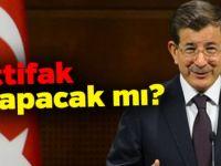 Ahmet Davutoğlu ittifak olur kararını açıkladı