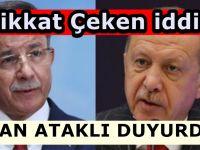 'Erdoğan, Davutoğlu'na iyi bir dayak atmak istiyor'