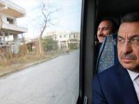 Cumhurbaşkanı Yardımcısı Oktay, Kapalı Maraş'ı Ziyaret Etti