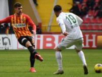 Kayseri'de maçtan Beraberlik