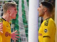 Almanya Birinci Futbol Ligi'nde Borussia Dortmund Zirve Yarışından Kopmadı