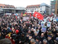 Almanya'nın Hanau Kentinde Irkçılık Ve Teröre Karşı Yürüyüş