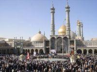 İran'ın Kum Kentinde Kovid-19 Nedeniyle Türbe Ziyaretine Sınırlama
