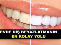 Sararmış Dişlerinizi bu tarifle bembeyaz yapabilirsiniz