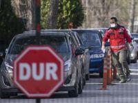 Avrupa'ya Açılan Sınır Kapılarında Kovid-19'a Karşı Önlemler Alındı
