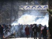Yunan Sınır Polisi Göçmenlere  Müdahale Etti