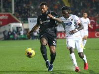 Beşiktaş Aytemiz Alanyaspor'u 2-1 yendi