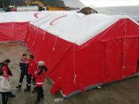 Sarp Sınır Kapısı'nda Da Sahra Hastaneleri Kuruluyor