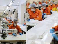 Hükümlüler Sağlık Kurumları İçin Ayda 1,5 Milyon Maske Üretiyor