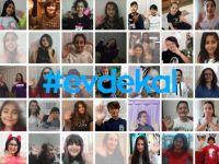 Antalya'da Çocuk Korosundan 'Evde Kal' Mesajı