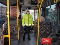 İstanbul'da Toplu Taşıma Araçlarında Kovid-19 Denetimi Yapıldı