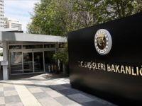 Dışişleri Bakanlığı: 'Uluslararası Camiayı Yukarı Karabağ'daki Seçimi Tanımamaya Davet Ediyoruz'