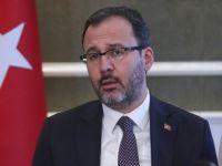 Bakan Kasapoğlu: 'Liglerin Başlama Zamanı Bilim Kurulu'nun Görüşleri ile Ortaya Çıkacak'