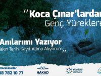 Türkiye'deki koca Çınarlar Gençlere anılarını anlatacak yazacak