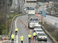 İstanbul'un Giriş ve Çıkışlarında Denetimler Devam Ediyor