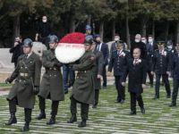 Emniyet Genel Müdürü Mehmet Aktaş Anıtkabir'i Ziyaret Etti