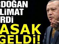 Erdoğan'ın talimatıyla yasak resmen başladı satışı artık yasak!