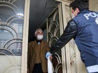 65 ve Üzeri Yaştaki Vatandaşlara Ücretsiz Kolonya ve Maske Dağıtımına Başlandı