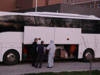 Isparta'da Karantinadaki 39 Umreci Tedavi Edilerek Memleketlerine Gönderildi