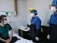 Kovid-19'u Yenen Hastaları Odalarında Görüntülendi