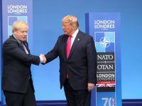 İngiltere Başbakanı Johnson ve Abd Başkanı Trump'dan flaş görüşme