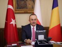 Türkiye-Romanya-Polonya Dışişleri Bakanları Video Konferans Düzenledi