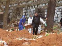 Brezilya'da Kovid-19'dan Son 24 Saatte 1001 Kişi Hayatını Kaybetti