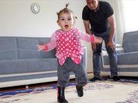 Bayram Hediyesi Olarak Yürüyemeyen Minik Kıza verilen hediye hayatını değiştirdi