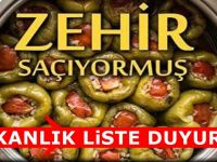 Bakanlık Zehirli Yiyeceklerin Listesini Kritik uyarıyla paylaştı