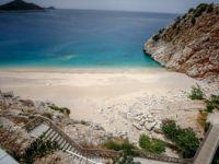 Kaputaş Plajı'nda 'Koronavirüs' Sessizliği