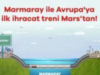 """Tekzip : Mars Logistics'ten  """"Marmaray'ı ilk biz kullandık"""" açıklaması"""