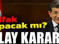Davutoğlu'nun Gelecek Partisi hangi ittifakta yer alacağını duyurdu